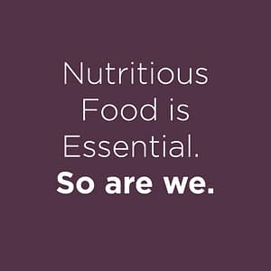 Nutritious Food is essential